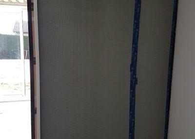 20190226 093353 400x284 - Installation d'un coulissant K-Line 2 vantaux à galandage 3400mm de largeur